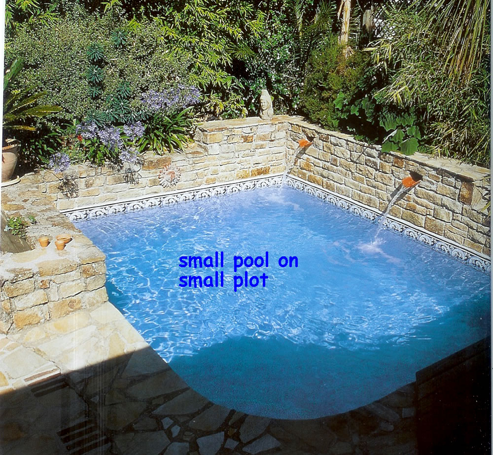 Very Small Backyard Pools : Pools For Very Small Yards for Pinterest
