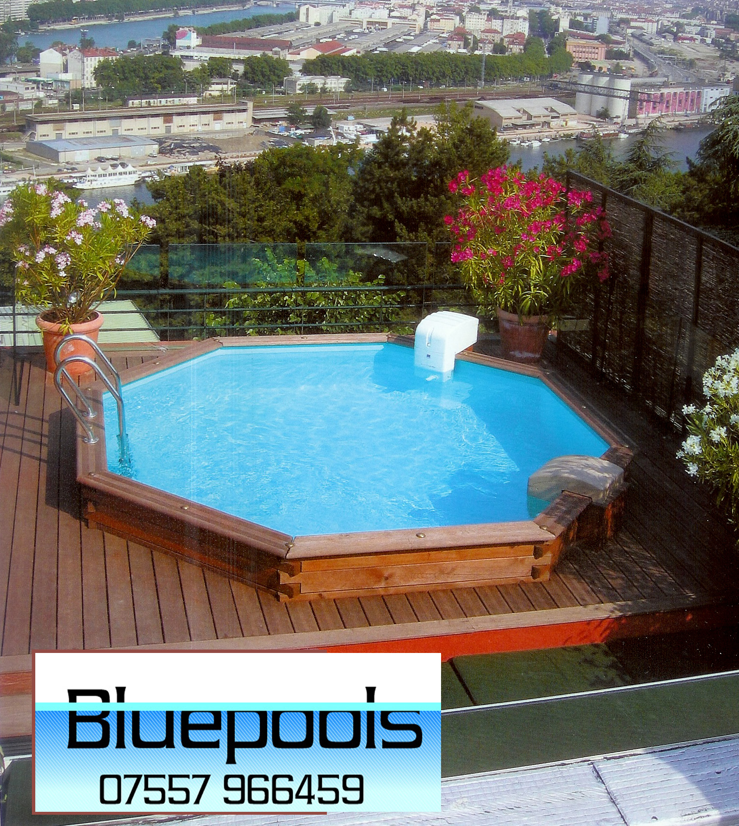 Custom swimming pools for Swimming pool 4 eckig