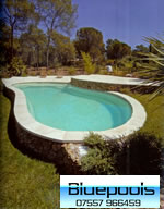 8 x 4 m fibreglass pool without deck