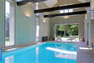 modern high indoor pool
